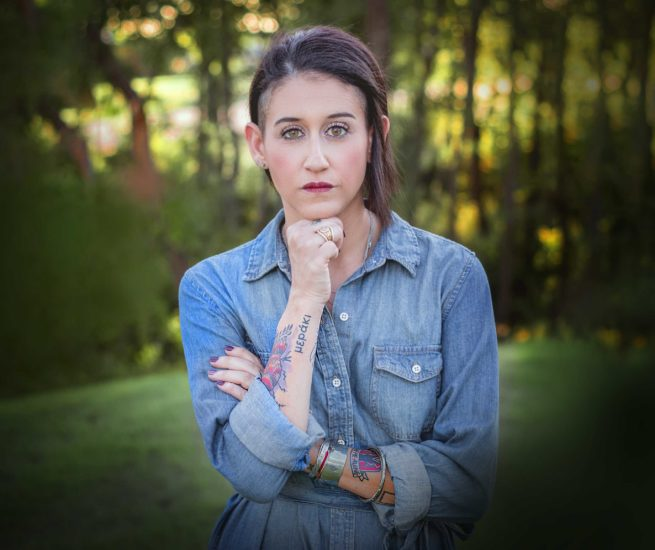 Nicole Farris Environmental portrait.