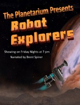 Robot Explorer show at planetarium theater
