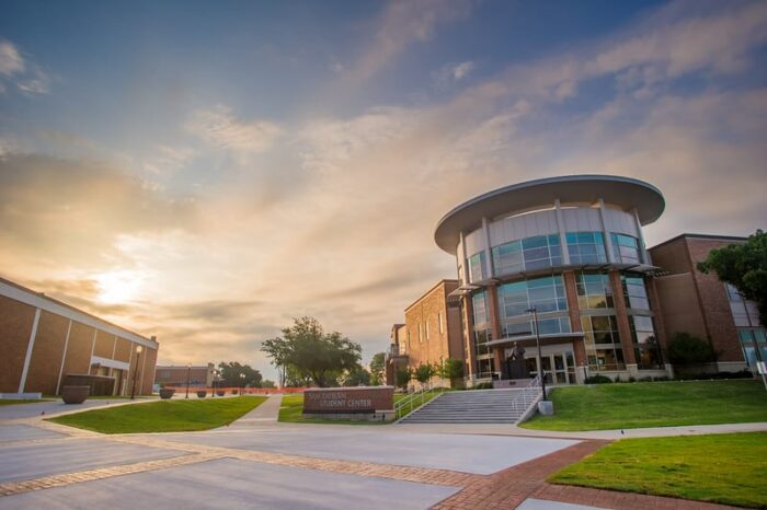 10000-Rayburn Student Center Sunrise–L