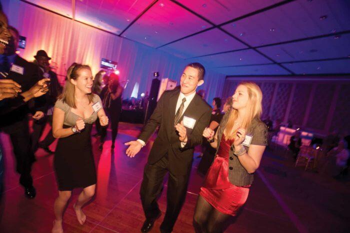 The Royal Roar party dancing