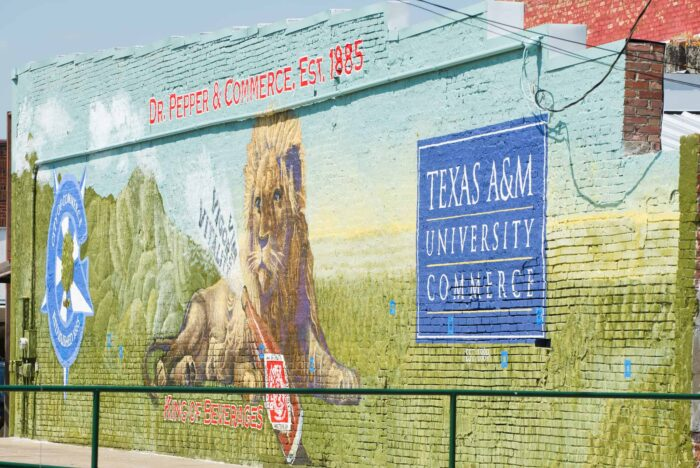 Dr Pepper Mural