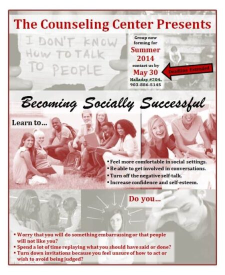 Becoming Socially Successful - May 30|Becoming Socially Successful Summer 2014