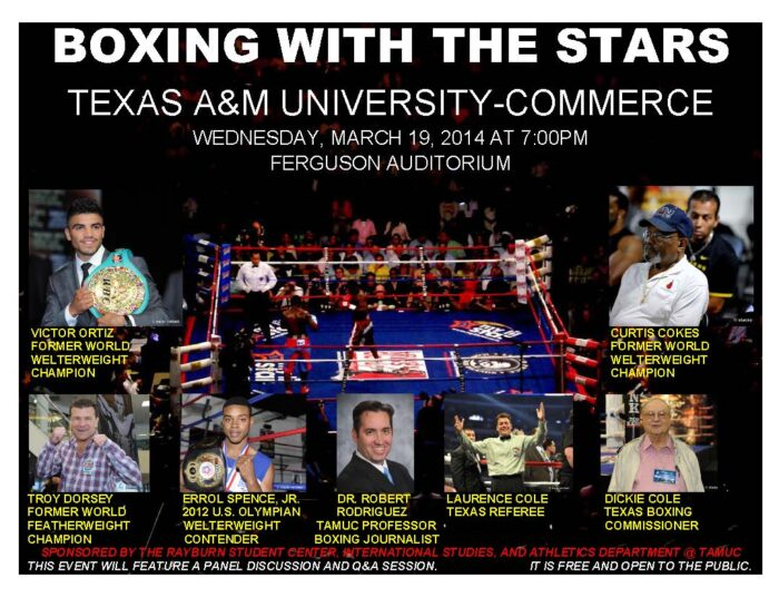Boxing with the Stars POSTER