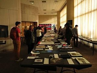 Student looking Creative summit