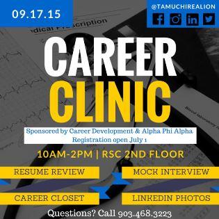 Career Clinic Fall 2015 WEB