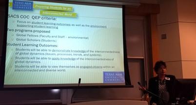 QEP Presentation by dr.Shonda Gibson
