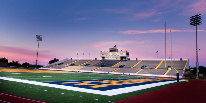 Memorial Stadium at A&M-Commerce