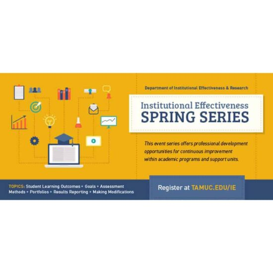 IE Spring Series graphic