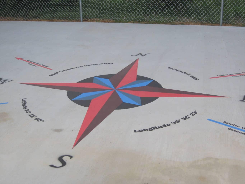 Planetarium Compass