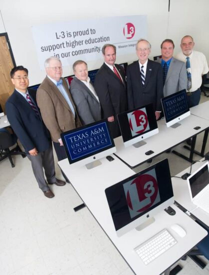 Professors and L3 employees background L3 banner