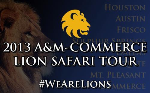 2019 A & M Commerce Lion safari tour