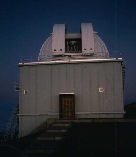Telescope building