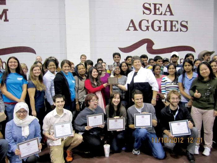 "traveling ""award"" Group background ""SEA AGGIES"""