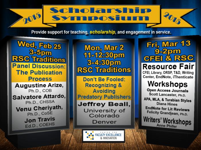 Scholarship Symposium