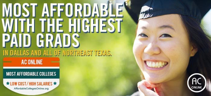 Most affordable with the highest paid grads in Dallas