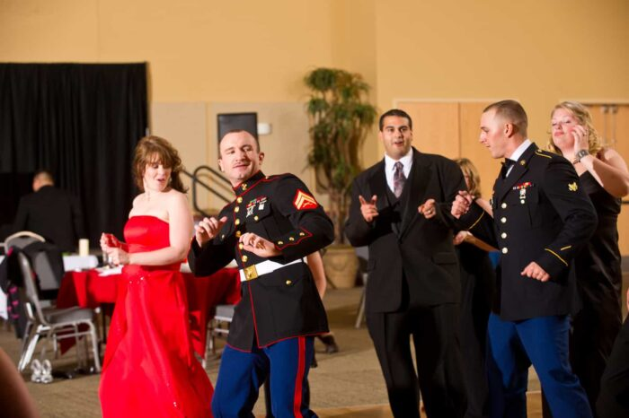 veterans dancing