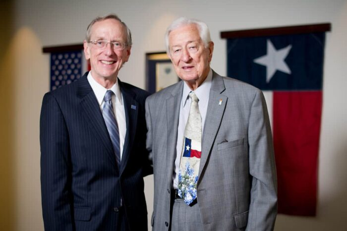 Ralph Hall and Dan R. Jones