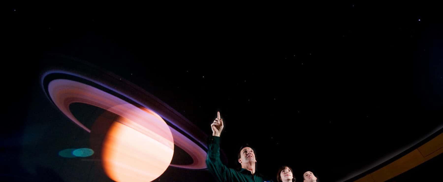 A&M-Commerce Planetarium show.