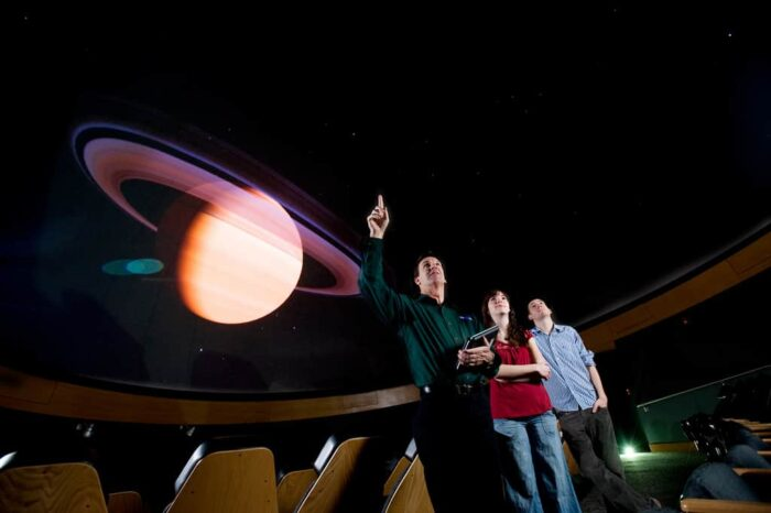 A&M-Commerce Planetarium show.