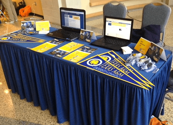 QEP table with two laptops