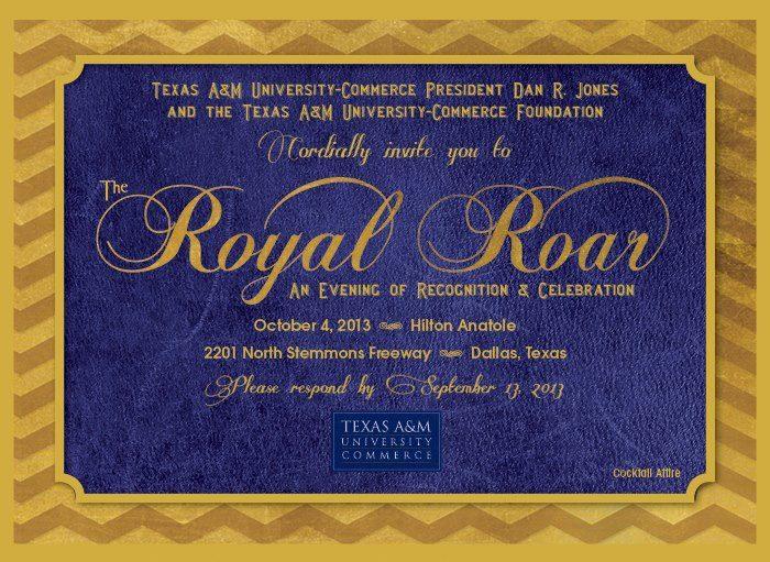 Royal Roar flyer