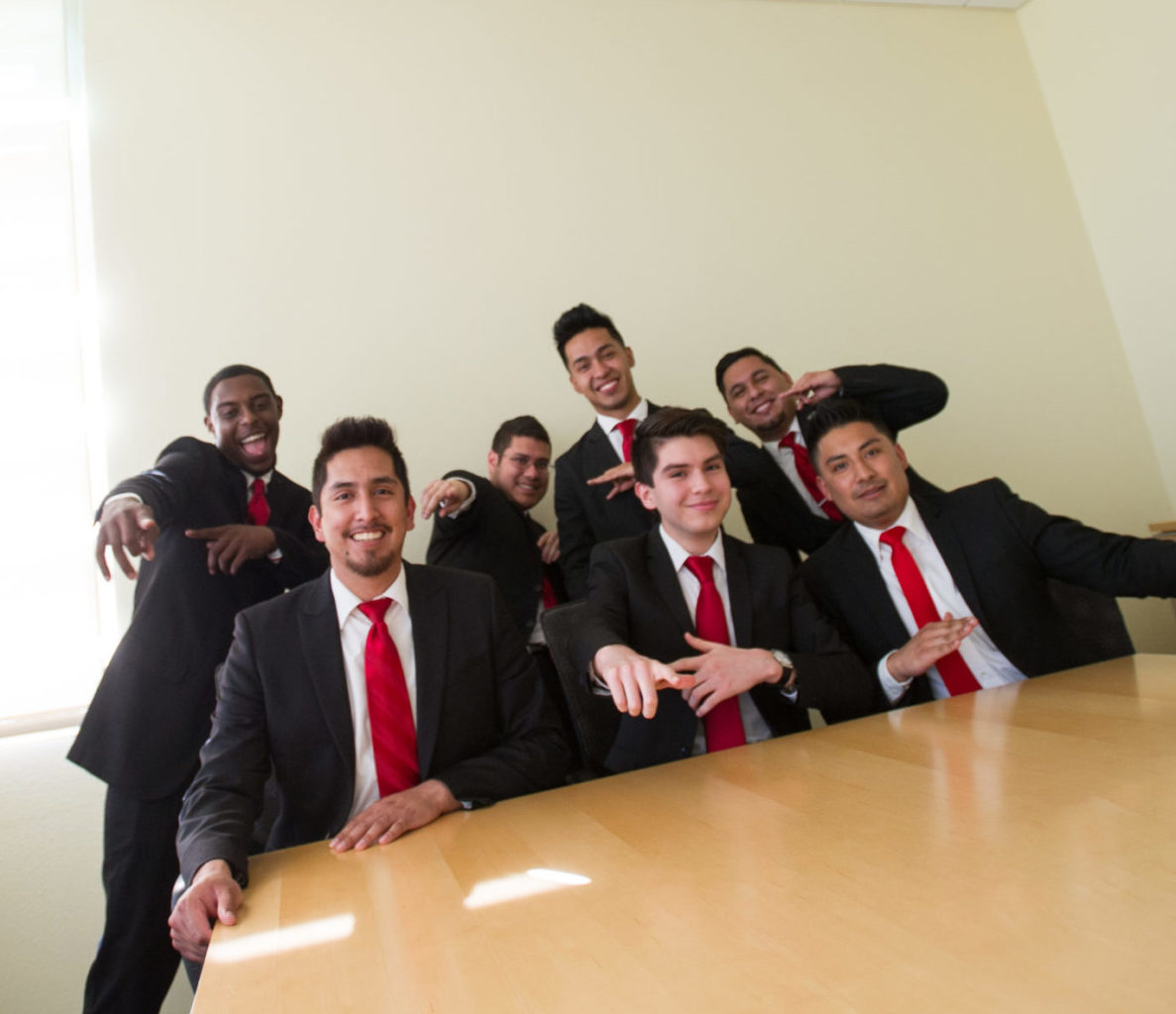 Group shot of Phi Iota Alpha Anniversary.