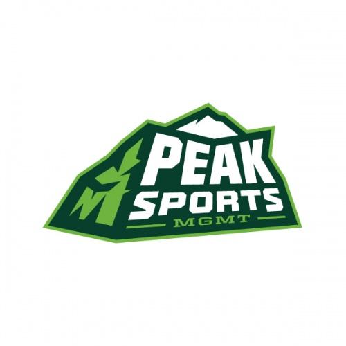 Peak Sports Management logo.
