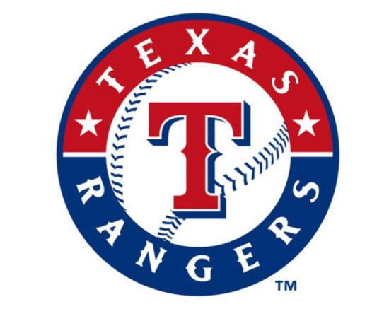 Texas Rangers logo.