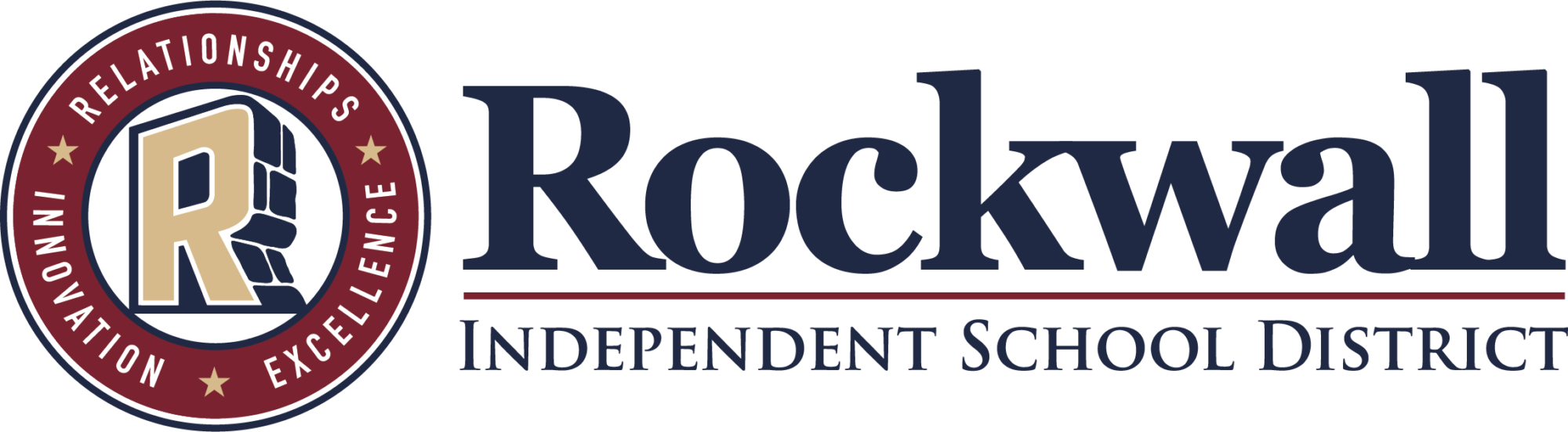 Rockwall independent school district icon.
