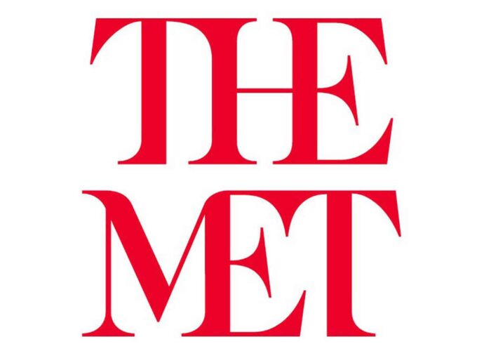 The Met logo.