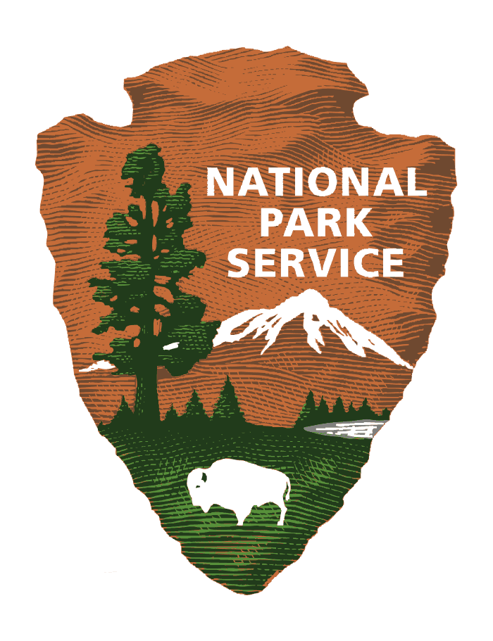National Park Service logo.