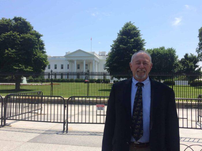 Alum Ben Scholz at White House