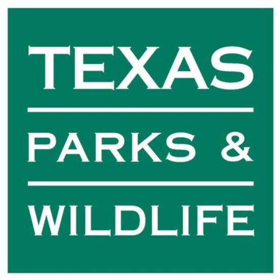 Texas Parks & Wildlife logo.