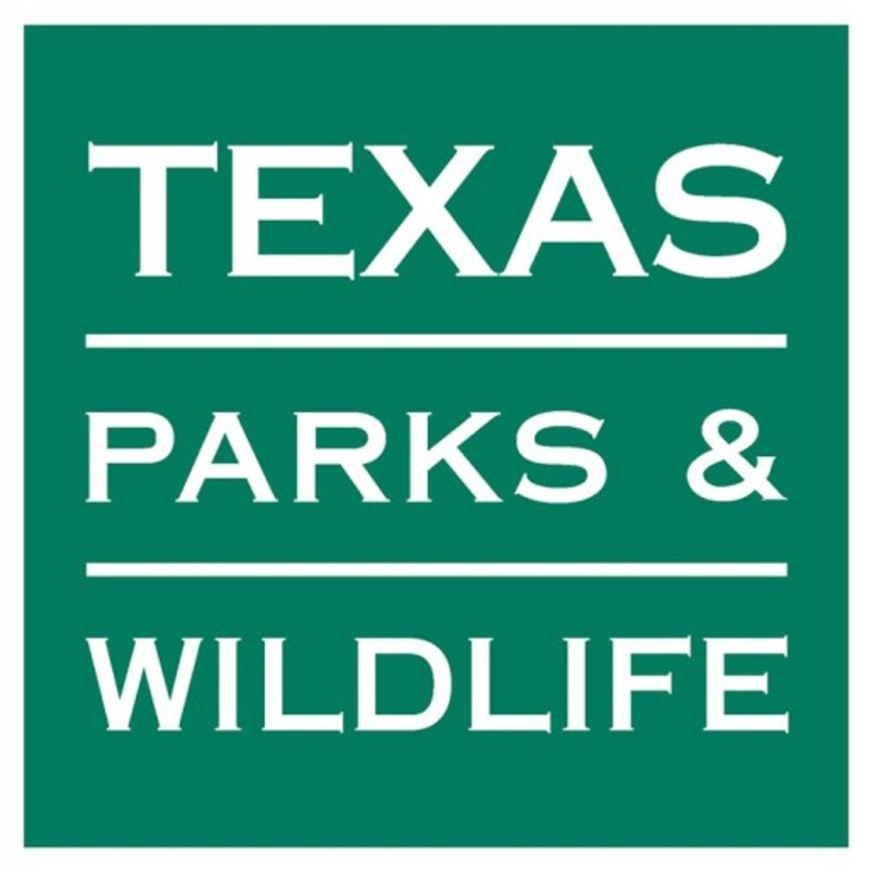 Texas Parks & Wildlife logo.