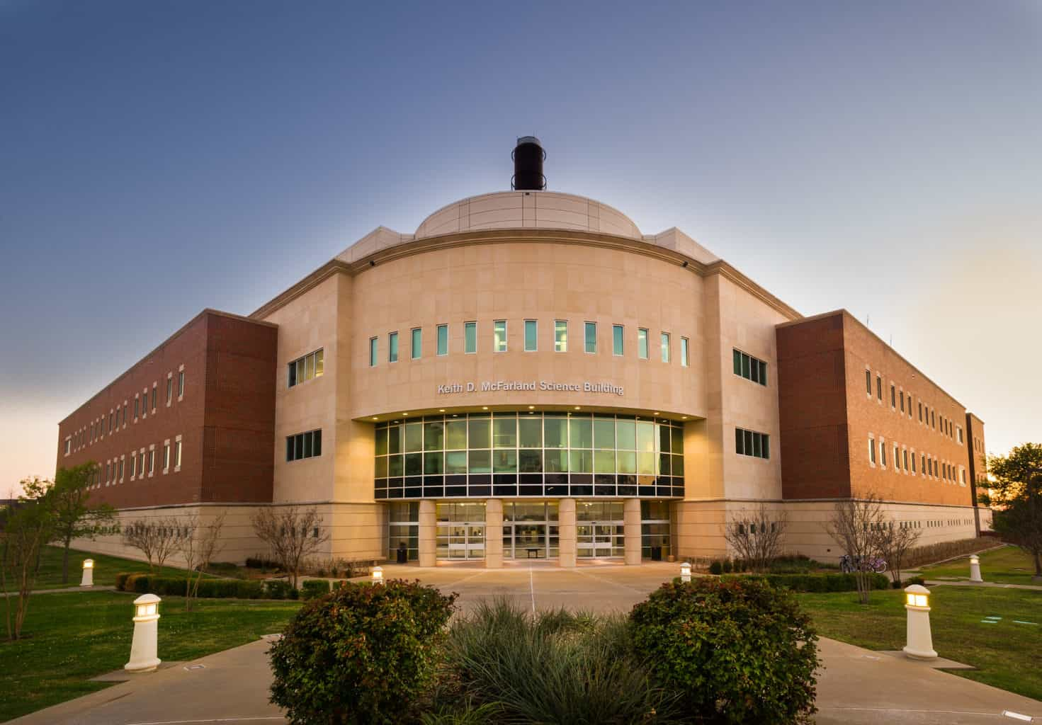 Image of the science building.
