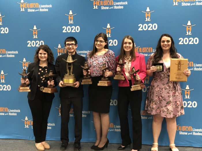 Meat Judging team wins at Houston Rodeo