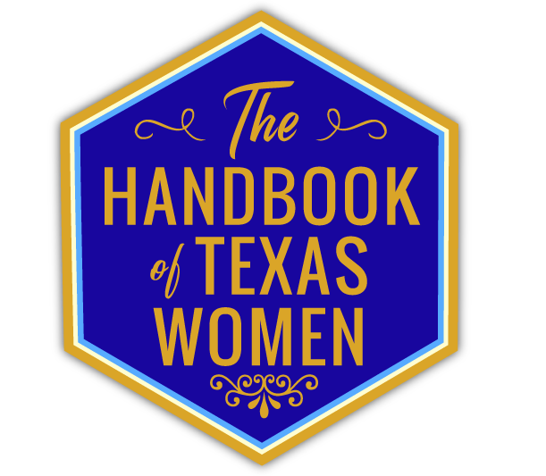 Handbook of Texas Women logo.