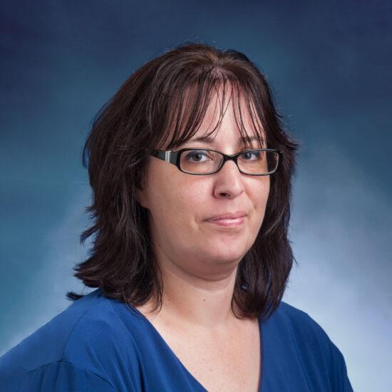 Dr. Samantha Roberts Headshot.