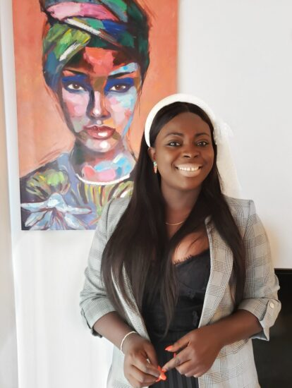 Photo of Joyce Agbanobi.