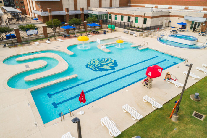 Great OutRoars pool at the Morris Rec Center.