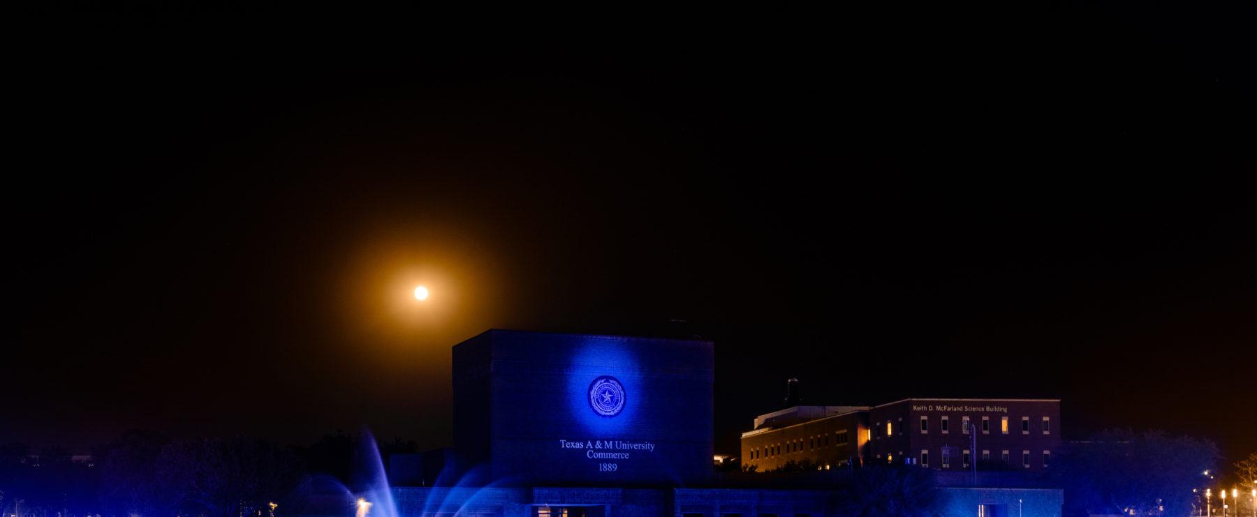 blue campus