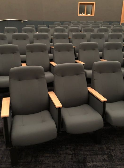 New seating at the A&M-Commerce Planetarium.