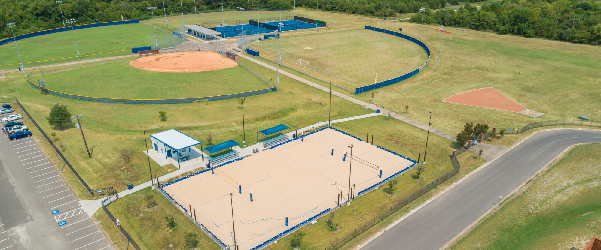 Cain Sports Complex.