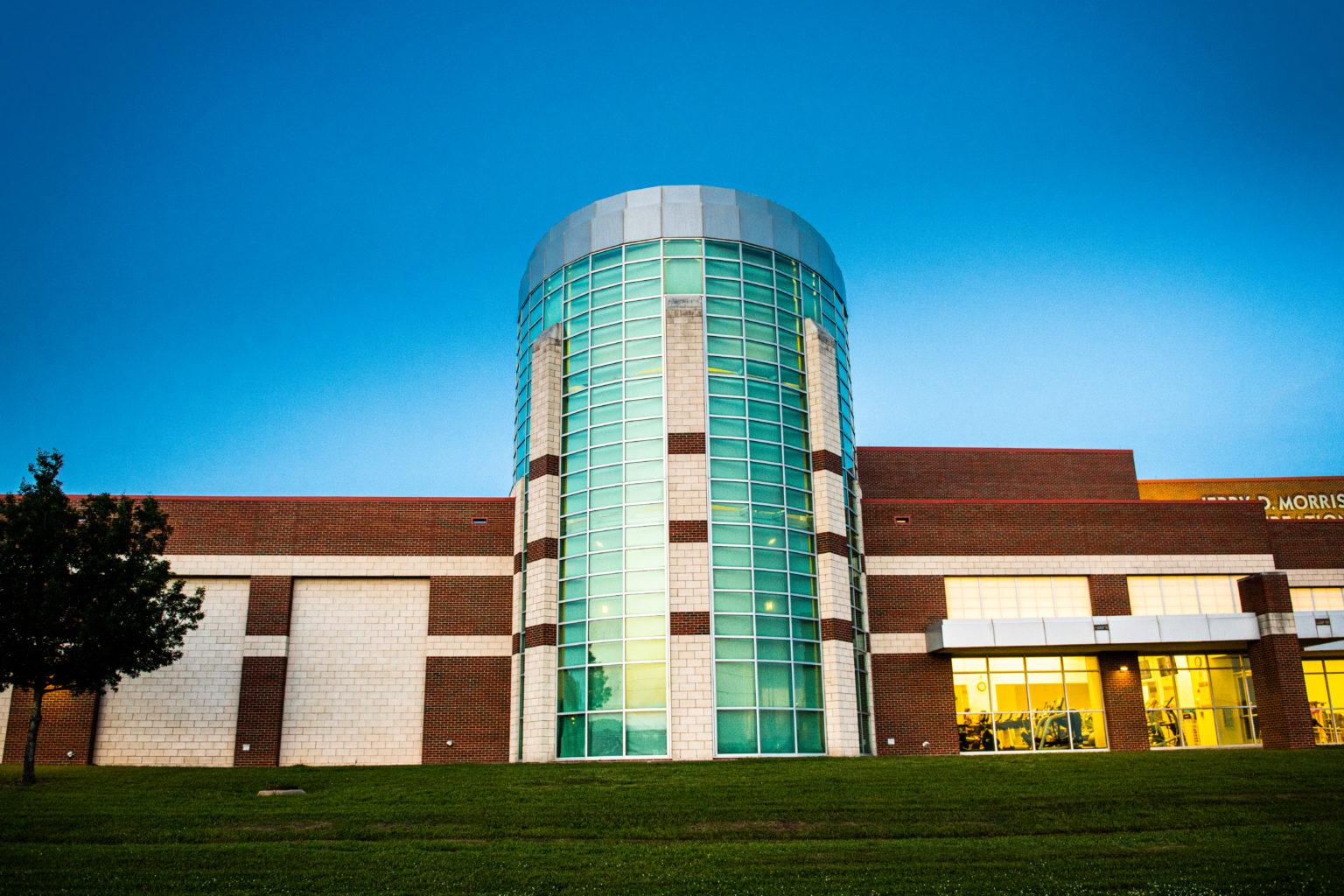 Morris Recreation Center street view.