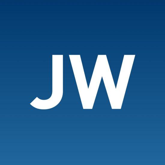JW initials