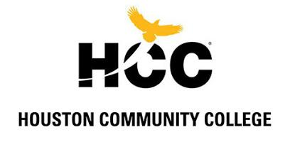 Houston Community College logo.