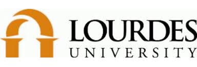 Lourdes University logo.