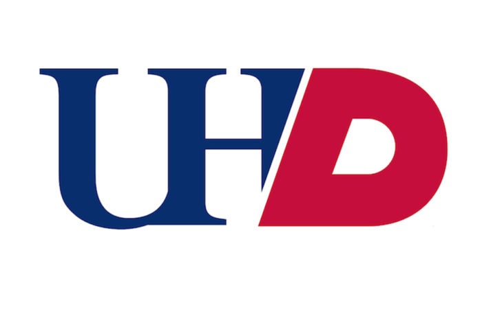 University of Huston Downtown logo.