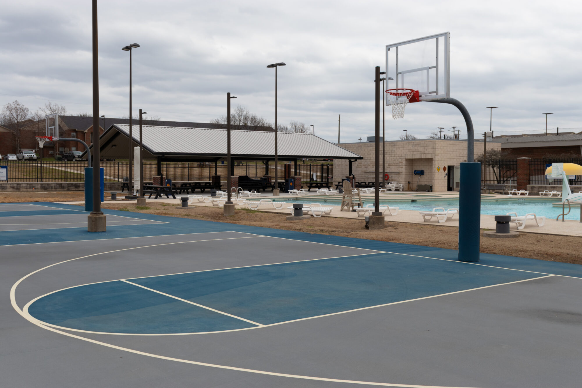 Great OutRoars Basketball court