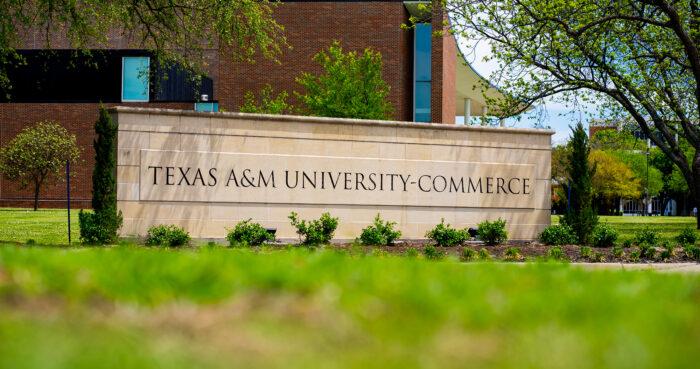 A&M-Commerce signage